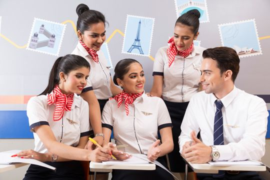 air hostess course in india
