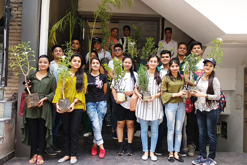 Life at Skylar - Students celebrated World Environment Day 2019