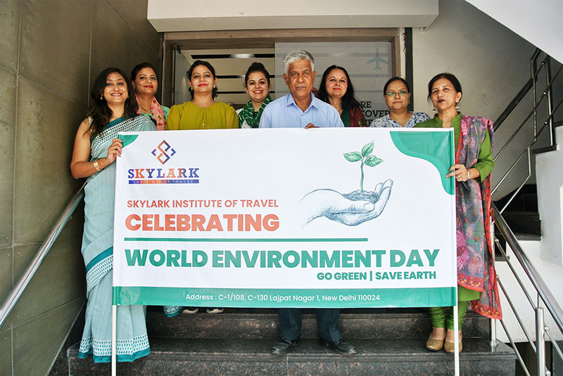 Life at Skylar - Institute Staff Celebrated World Environment Day 2019