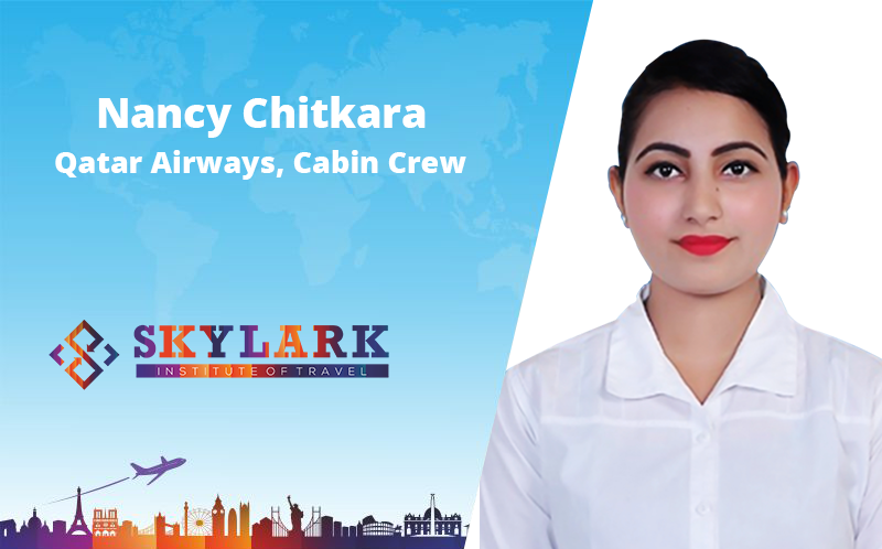 Nancy Chitkara - - Testimonial Skylark Institute of Travel