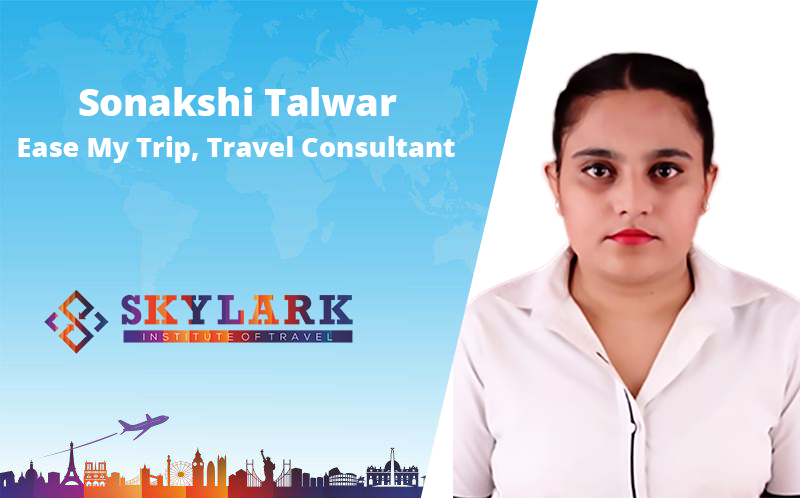 Sonakshi Talwar - Testimonial Skylark Institute of Travel