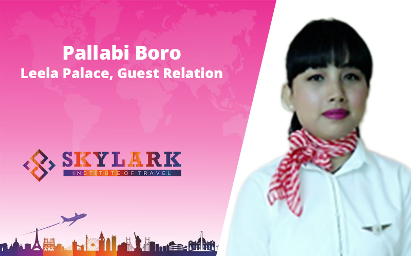 Pallabi Boro - Testimonial Skylark Institute of Travel