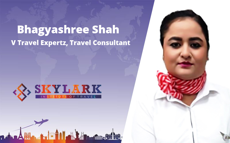 Bhagyashree Shah - Testimonial Skylark Institute of Travel