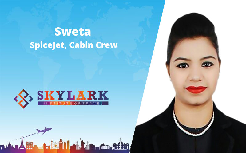 Shweta - Testimonial Skylark Institute of Travel