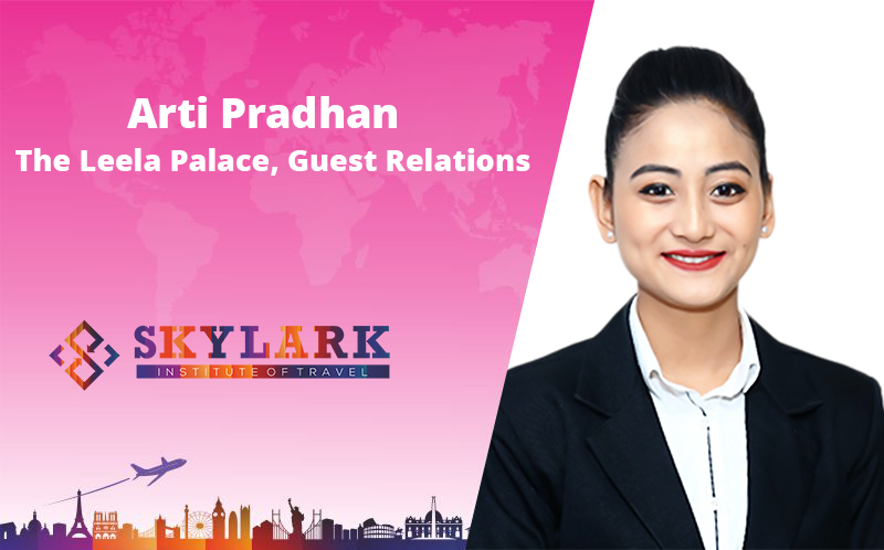 Arti Pradhan - Testimonial Skylark Institute of Travel