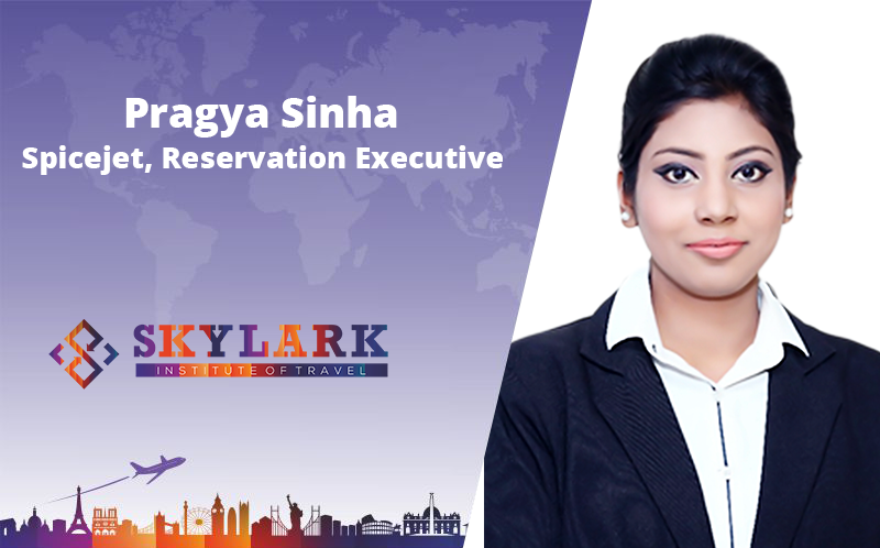 Pragya Sinha - Testimonial Skylark Institute of Travel