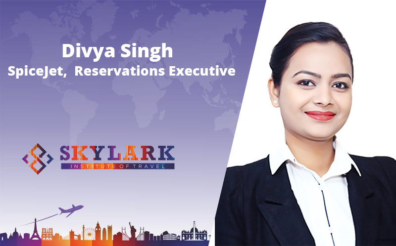 Divya Singh - Testimonial Skylark Institute of Travel