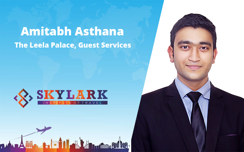 Amitabh Asthana - Testimonial Skylark Institute of Travel