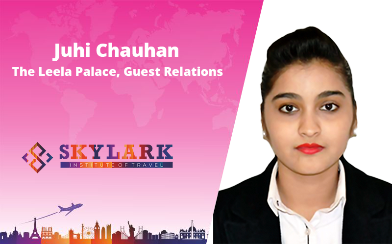 Juhi Chauhan - Testimonial Skylark Institute of Travel