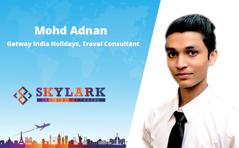 Mohd Adnad - Testimonial Skylark Institute of Travel