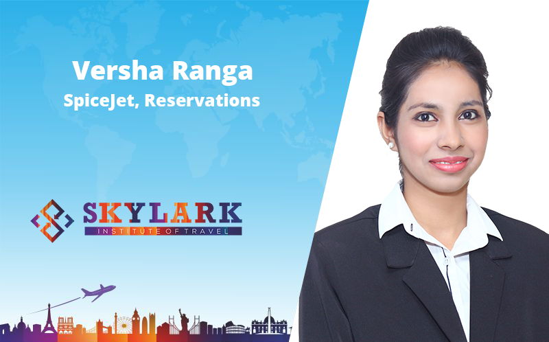 Varsha Ranga - Testimonial Skylark Institute of Travel