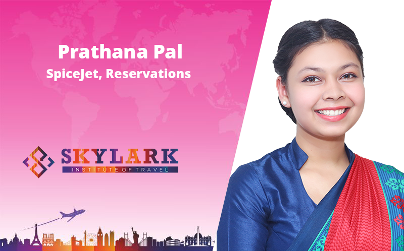 Prathana Pal - Testimonial Skylark Institute of Travel
