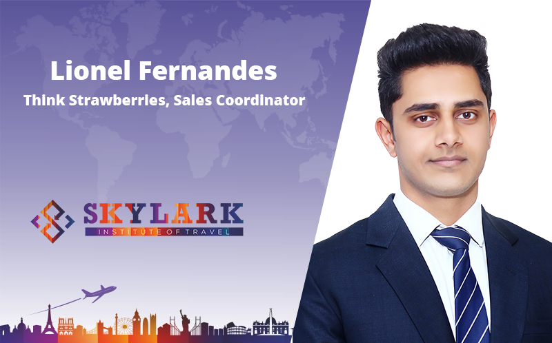 Lionel Fernandes - Testimonial Skylark Institute of Travel