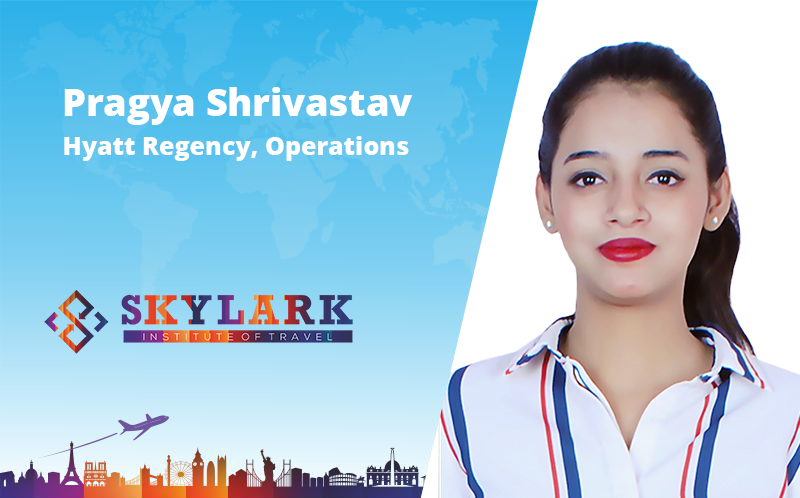 Pragya Shrivastav - Testimonial Skylark Institute of Travel