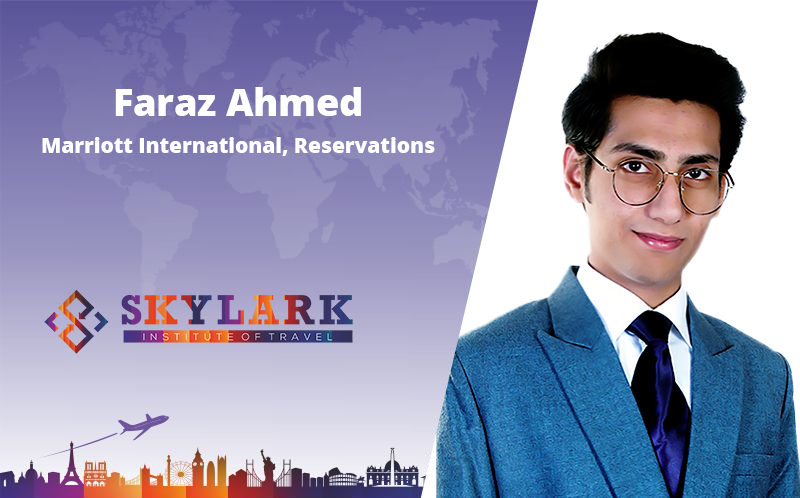 Faraz Ahmed - Testimonial Skylark Institute of Travel