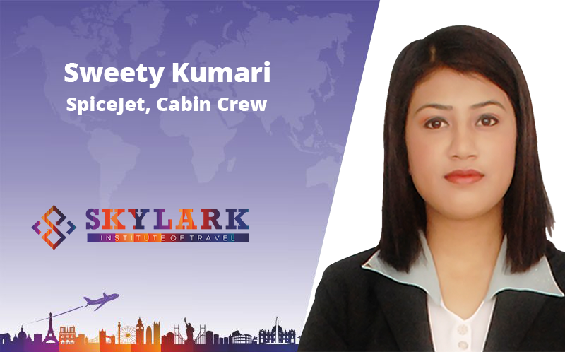 Aweety Kumari - Testimonial Skylark Institute of Travel