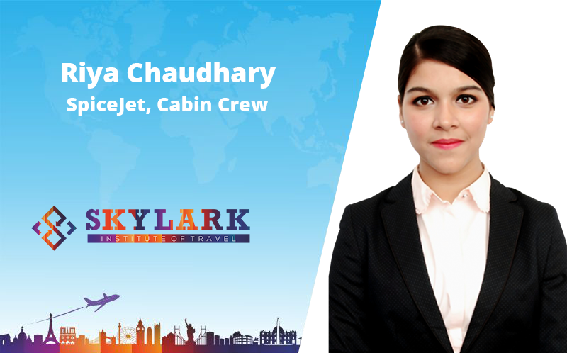 Riya Chaudhary - Testimonial Skylark Institute of Travel