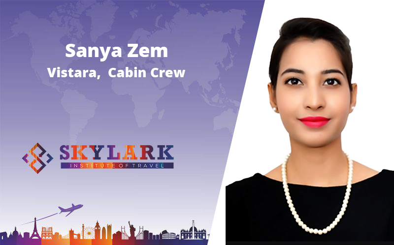 Sanya Zem - Testimonial Skylark Institute of Travel